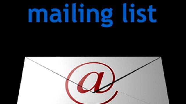 2016/17 CLOB Mailing List