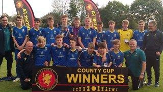 U15 WIN SFA U15 COUNTY CUP