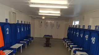 CHANGING ROOM REFRESH 2019