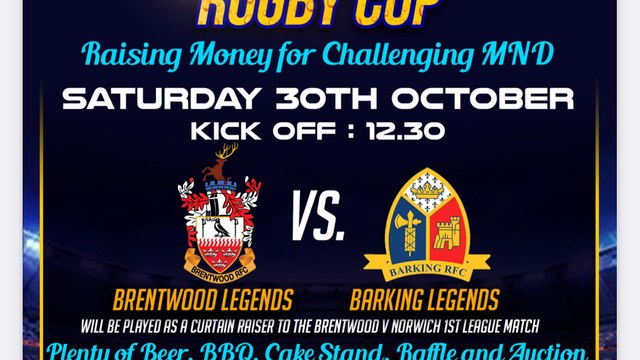 Saturday 30th October  12.30pm KO - THE GIBBO CUP