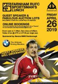 2019 Sportsmans Lunch - SOLD OUT