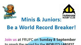 Calling all Minis and Juniors - let's break a record for Cancer Research!