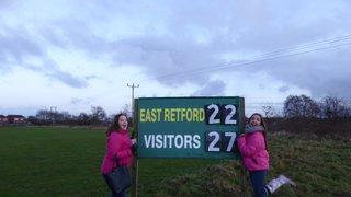 1st 15 V's East Retford 06.01.18