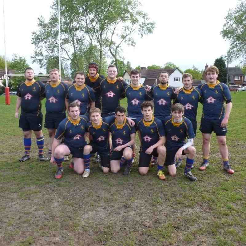 Old Hales Colts Vs Kidderminster- Cup Final-6th May 2014