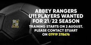U11s Recruiting!
