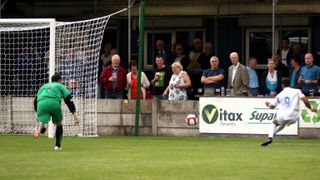 The Enfield Town goals at Skelmersdale