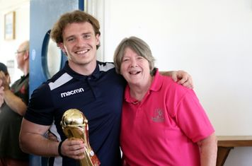 SUPPORTERS' PLAYER OF THE SEASON: Joe Wright