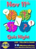 Quiz Night - 11th November