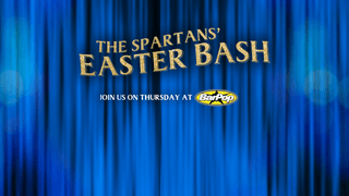 Spartans get ready for their Easter Bash