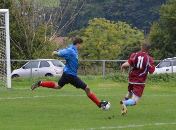 Buckley keeper thwarts an attack.