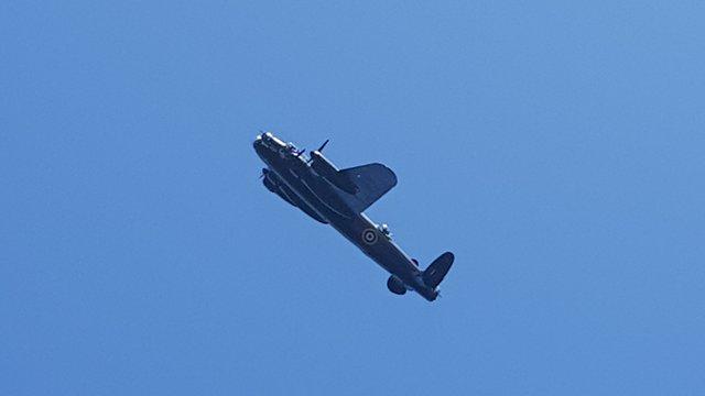 RAF SALUTE HUGE WINTERBOURNE WIN