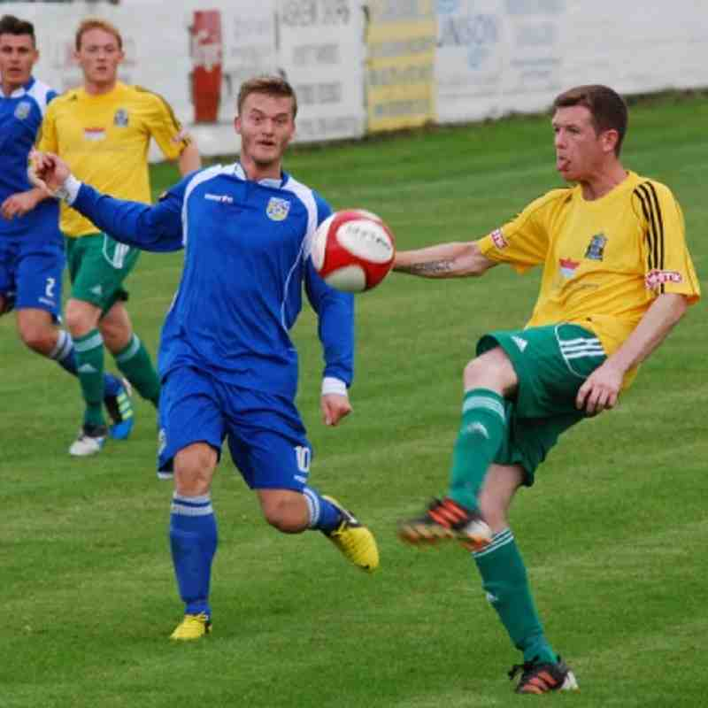 Frickley Athletic v Marine - 25/08/12