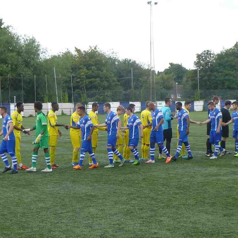 Sutton Coldfield v Frickley Athletic - 22/08/15