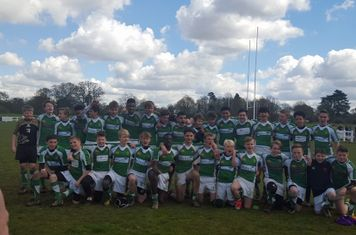 Under 14s Sussex Youth Winners