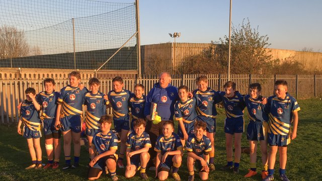 Braves under 12's win at Eat Hull