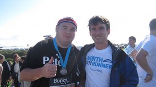 Macca - Great North Run completed in 2hrs 33mins