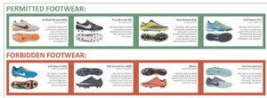 Bookings for 3G and Footwear Information