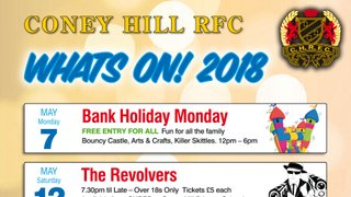 What's On At Coney Hill RFC