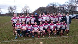 Under 15's League Match v Rochford 28th February