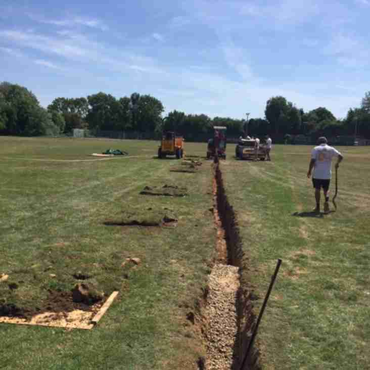 Drainage Work Project