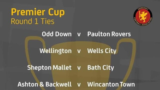 SOMERSET PREMIER CUP DRAW