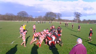 2nds v Ilkley 3rds - a hard day at the office
