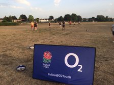 O2 Touch rugby at Imber Court