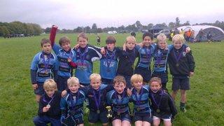 U10s B team comes 2nd in Maienhead Festival