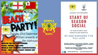 Busy Weekend Down At Marple Rugby Club!!!