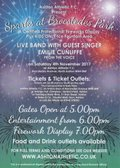 Tickets £5 or £6 on the night for Bonfire Spectacular 4th Nov