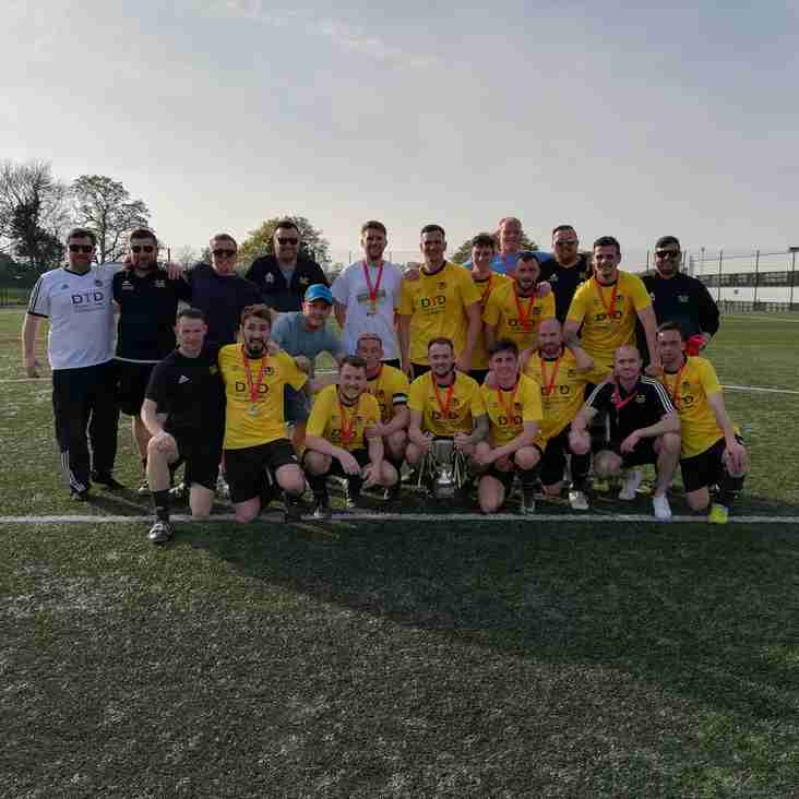 Flint Mountain FC Are crowned North East Wales Football League Champions 2018/19