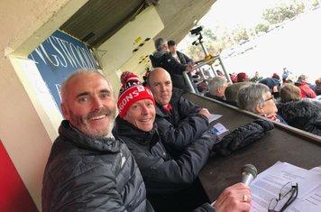Nigel Doe & Gareth Vaughan-Jones in the Press Bod