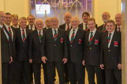 Our Choirboys really are part of the team !