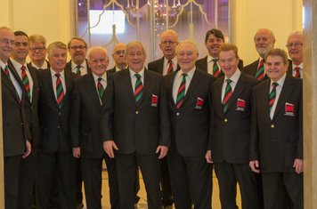 Our very own London Welsh Rugby Club Choir