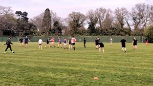 Saturday morning touch rugby