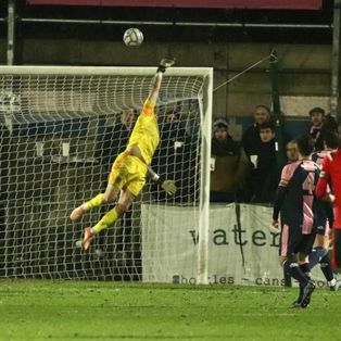 First Away Defeat as Borough Hit Hamlet Barrier