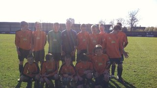Under 14s Cup Final @ HYDE FC 2013