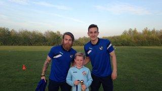 Bristol Rovers at U9 Training Session April 2015