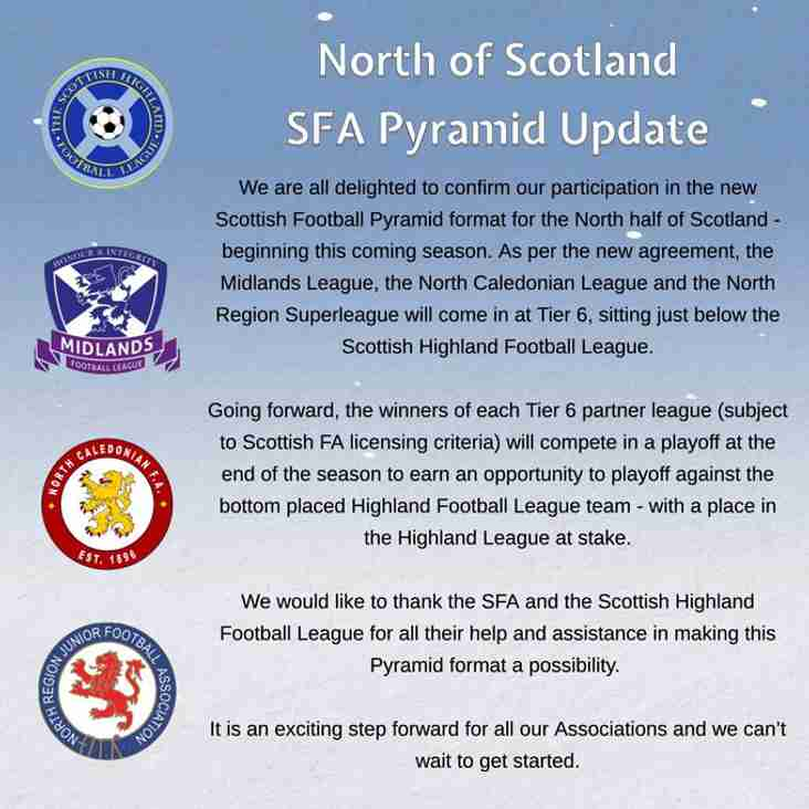 North Region joins pyramid at Tier 6