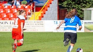 Hemel Hempstead Town ladies V QPR development squad.