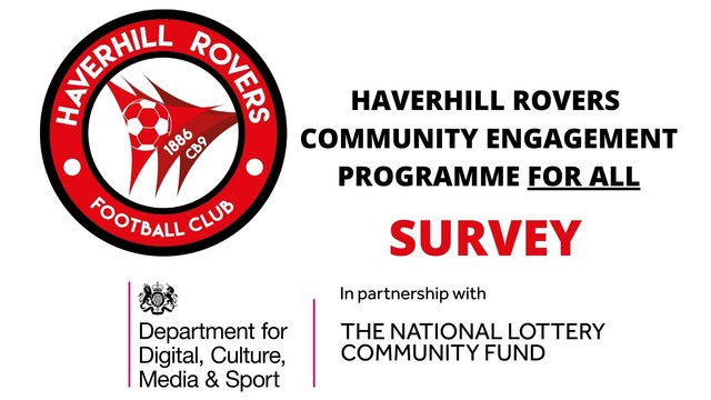 Haverhill Rovers Community Engagement Programme FOR ALL - SURVEY