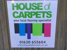 Many Thanks To Peter & Lucy At The House Of Carpets For Their Continued Sponsorship Of MDTFC