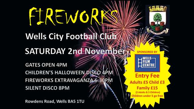 Fireworks & Children's Halloween Disco