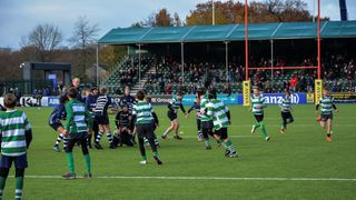 Folkestone U12 made the long trip to the Allianz Park, home of Premiership side Saracens