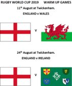 24th of August (England V Ireland)  KO 15:00