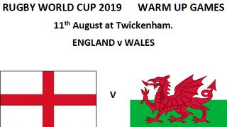 24th of August (England V Ireland)  KO 15:00