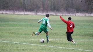 Hale Leys FC vs Bracknell Rovers FC  25/01/2014