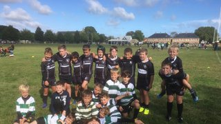 U9's Training with Ash RFC_2nd October 2016