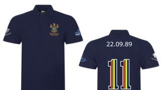 RMBS 3oth Anniversary Memorial Rugby Game Commemorative Polo Shirt   - Still Available To Buy