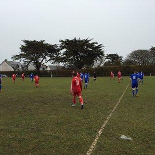 St Minver 1sts 5 v 0 Saltash United 3rds